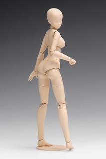 WAVE 「1/12比例 女性素體」 組裝模型作品!1/12スケール ムーバブルボディ 女性型