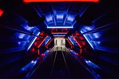 Inside. #atomium #brussels #belgium #lights #nikon #d3300