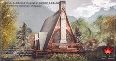 Trompe Loeil - Ysela A-Frame Cabin & Snow Add-On for Collabor88 November