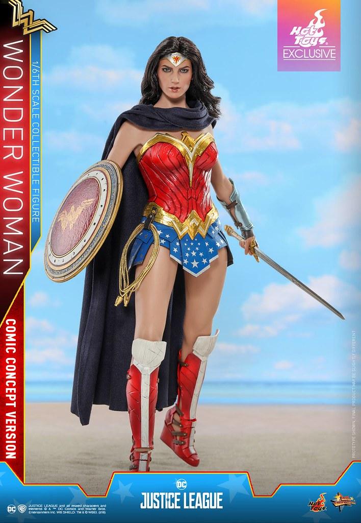 Hot Toys - MMS506 -《正義聯盟》神力女超人 (漫畫概念版)  Wonder Woman (Comic Concept Version) 1/6 比例可動人偶作品