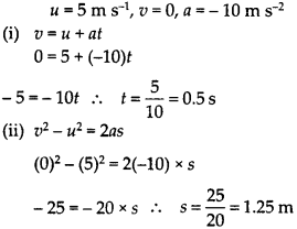 NCERT Solutions for Class 9 Science Chapter 8 Motion 11