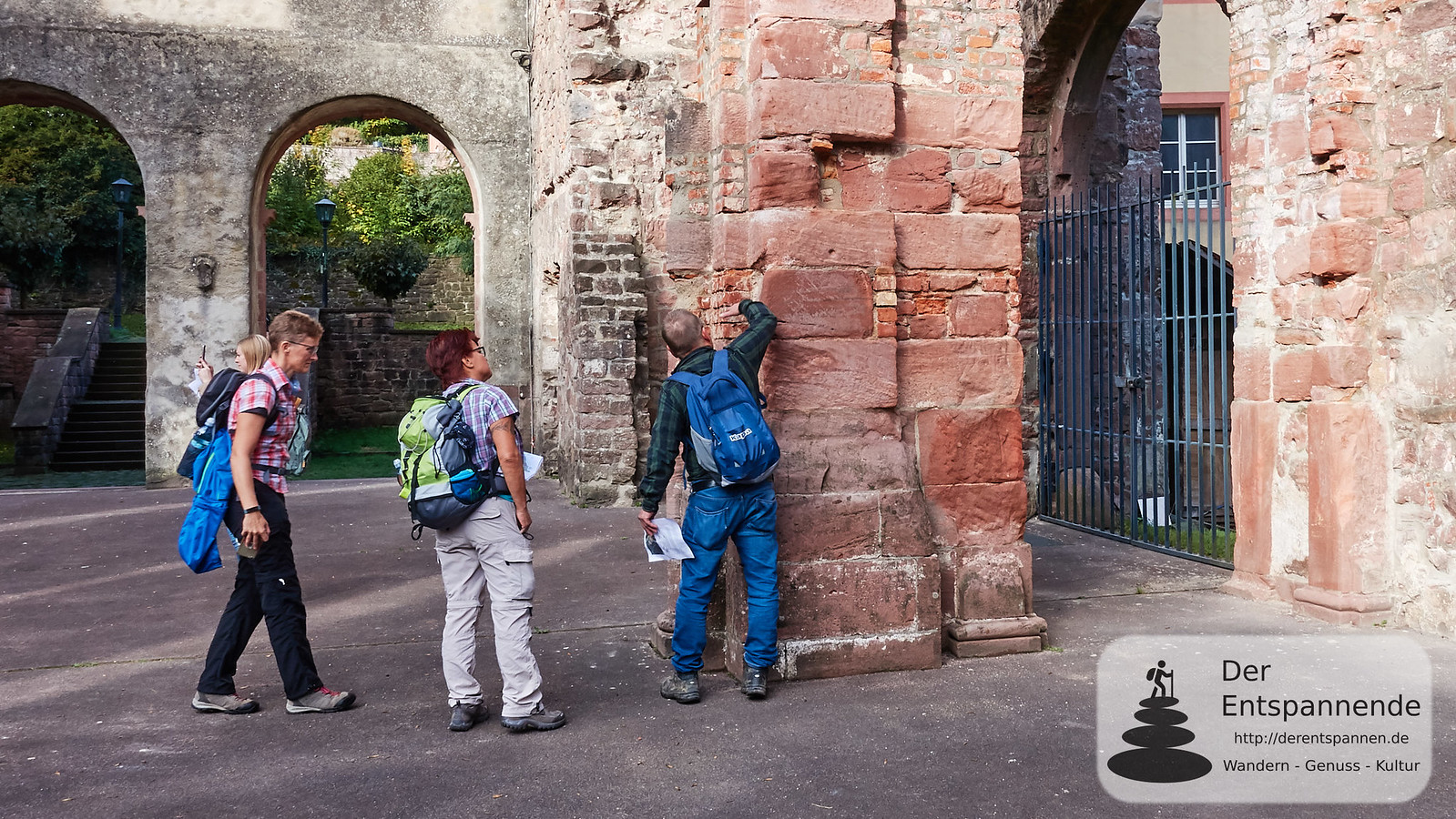 Geo-Erlebnistour in der Klosterruine Frauenalb
