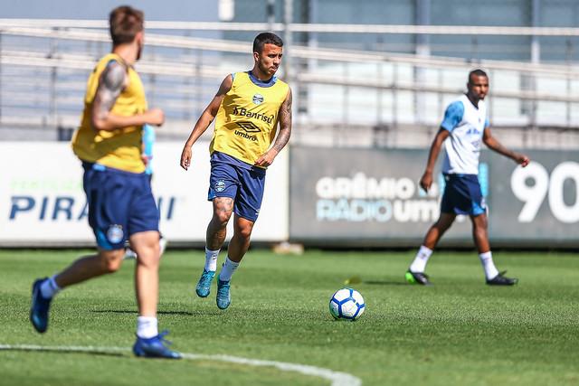 Treino Grêmio 19/11/18