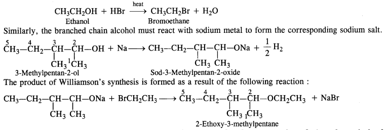 NCERT Solutions for Class 12 Chemistry Chapter 11 Alcohols