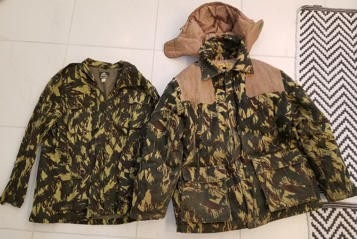 Winter Hunting Parka in Ugandan Vertical Lizard Camo 31351544847_7d6cf0229a_o