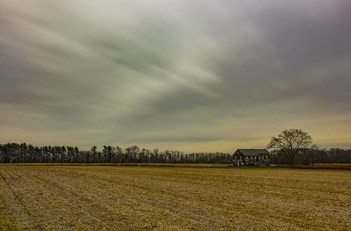 historic longexposure monmouthcounty field battlefield winter