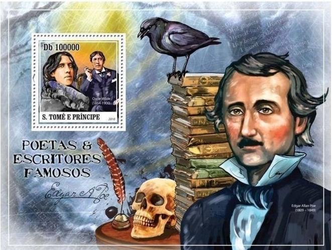 São Tomé and Príncipe - StampWorld.com #4413 (2010) souvenir sheet. [NIMC2019]: image sourced from active eBay auction