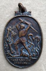 1914 German medal the great thrashing