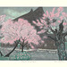 Japanese Flower and Bird Art posted a photo:	Japanese art print by Fumio Kitaoka (1918-2007)