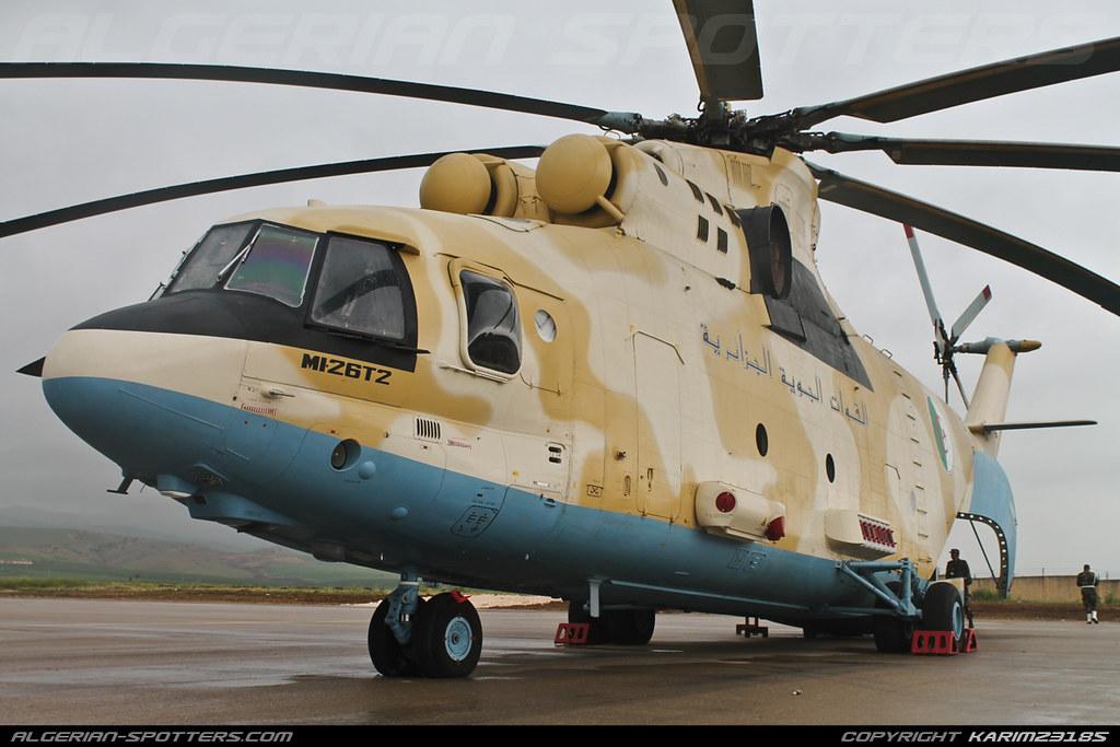 صور المروحيات الجزائرية  MI-26T2 - صفحة 22 32023719898_a1d93d767c_b