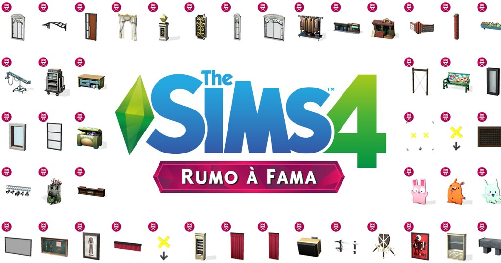 Photo of Lista com Todos os Objetos do The Sims 4 Rumo à Fama
