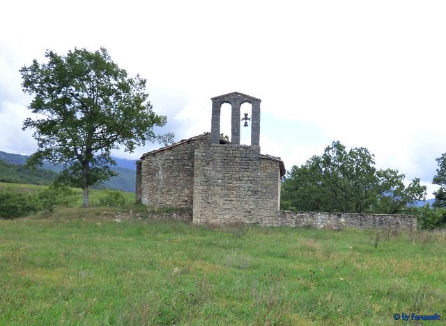 Solsonès 18 -03- Veinats de Guixers i Valls -05- Sant Martí de Guixers (Romànic) -06- Poniente 01
