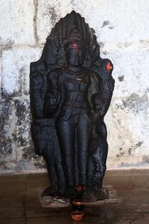 In the praharam - Sri Bairavar