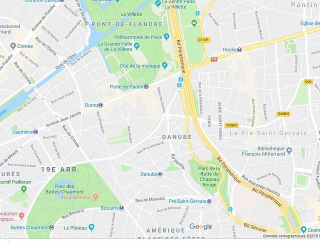 13/12/2018 Parc des Buttes Chaumont - Parc de la Butte du Chapeau Rouge - La Villette (12 kms)