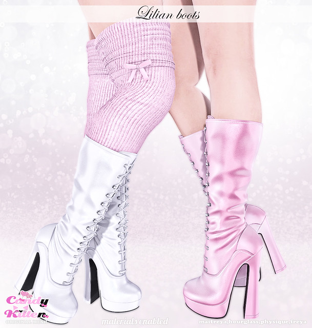 lilian boots at Sanarae