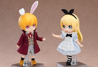 黏土娃 原創角色「愛麗絲」系列『愛麗絲』『白兔』(ねんどろいどどーる アリス、ホワイトラビット)