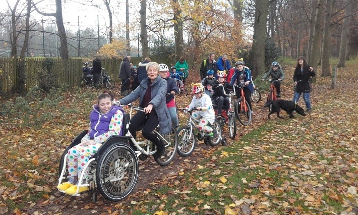 Children In Need's Rickshaw Challenge