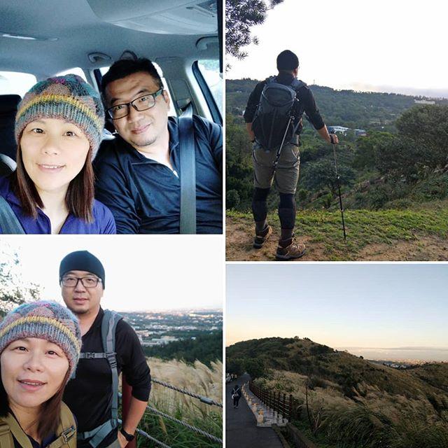 20181124 早安 一早來個郊山健行 #負重郊山健行 #中年開始爬山 #40歲以後找回自己 #一起更健康