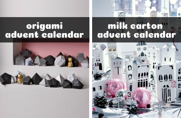 Origami and Milk Carton ADVENT