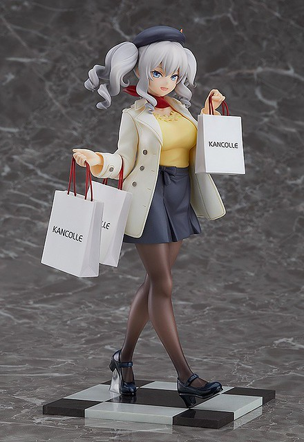 GSC《艦隊Collection -艦Colle-》「鹿島 購物模式」1/8比例上色完成品!鹿島 お買い物mode