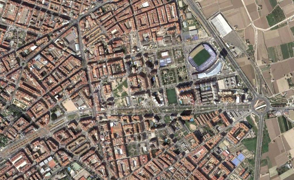 rascanya, valencia, rascayú, después, urbanismo, planeamiento, urbano, desastre, urbanístico, construcción, rotondas, carretera