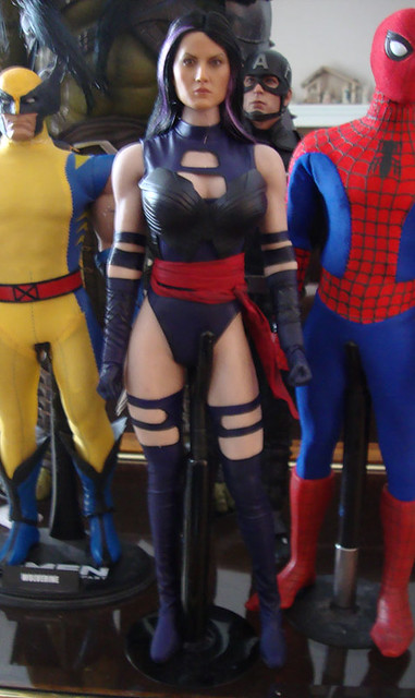 Toys Era Psylocke (Body swapped to a Phicen) 44738675720_99f87fcaab_z