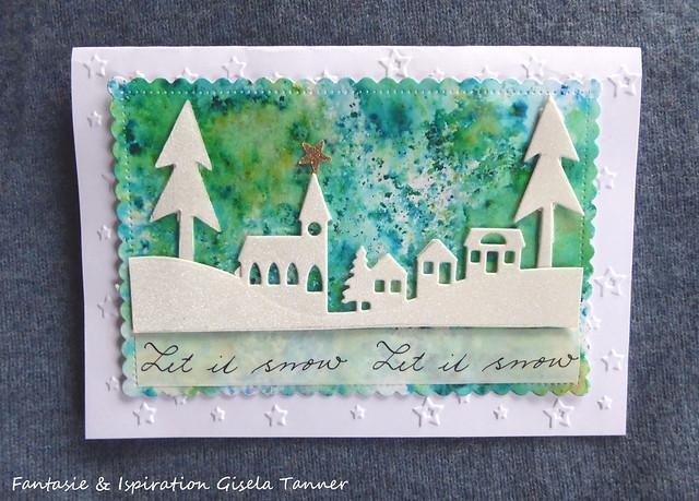 Weihnachts- und Winterkartennachlese