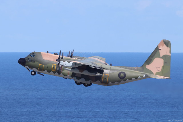 ROCAF C-130H 1311, Canon EOS 80D, Canon EF 500mm f/4L IS II USM