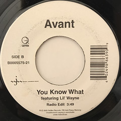 AVANT:YOU KNOW WHAT(LABEL SIDE-B)