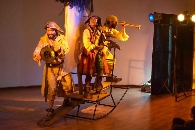 """Obra Teatral """"Piratas en el Sur"""""""