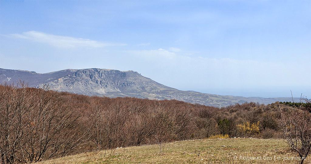 горные пейзажи Крыма