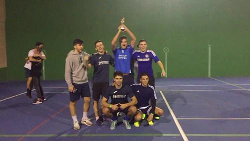 Ganamos torneo intercolegial Residencia Universitaria San Francisco Javier