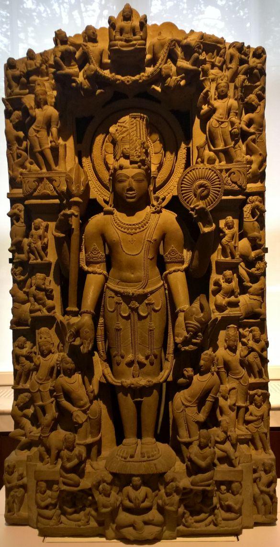 168 WP_20180909_11_16_36_ProSandstoneSculptureOfHariharaAboutAD1000ProbablyKhajurahoMadhyaPradeshIndia
