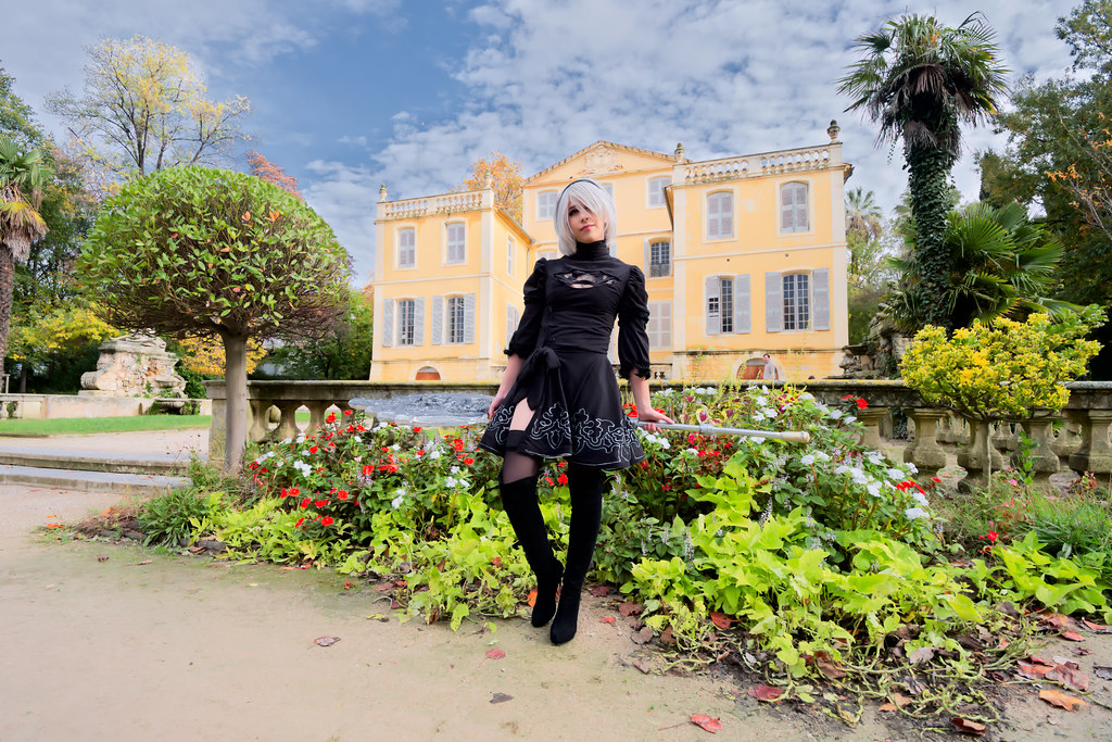 related image - Shooting Nier Automata - 2B - Jardin de la Magalone -2018-11-10- P1388751