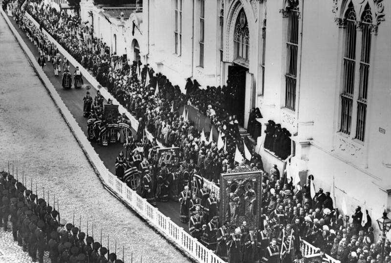 1912. Торжества по случаю 100-летней годовщины победы над Наполеоном