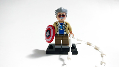 EclipseGRAFX Custom LEGO Stan Lee Excelsior Minifigure
