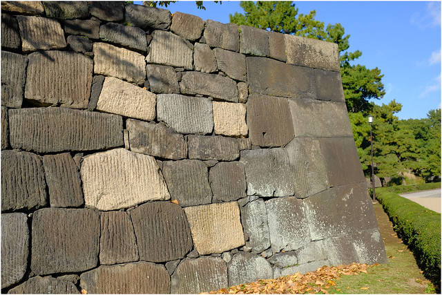 Photo:Ancient walls - Edo Castle-Imperial Palace - Tokyo, Japan.05 By Geoff Whalan