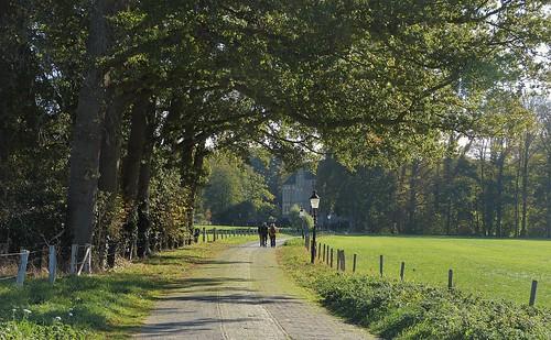 The way to Vorden Castle