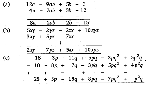 NCERT Solutions for Class 8 Maths Chapter 9 Algebraic Expressions and Identities 5