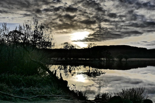 Loch Ard - Winter, Panasonic DMC-TZ100