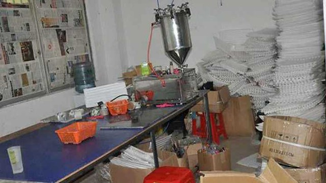 "2734 38 liters of ""Human Urine"" found in ""perfume factory"" in Jeddah selling ""Oud"" 04"
