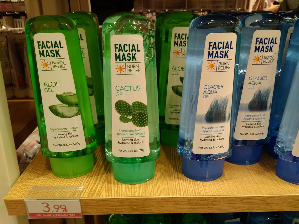 MINISO Facial Mask Sun Burn Relief Gel