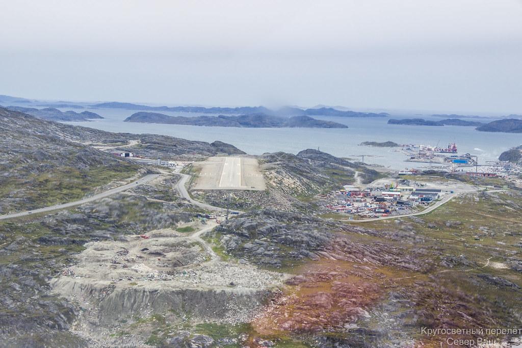 ВПП аэропорта Нуук