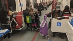 Subway, almost noon