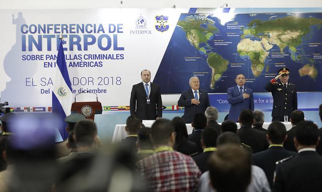 Inauguración de la Conferencia de INTERPOL sobre pandillas criminales de las Américas.