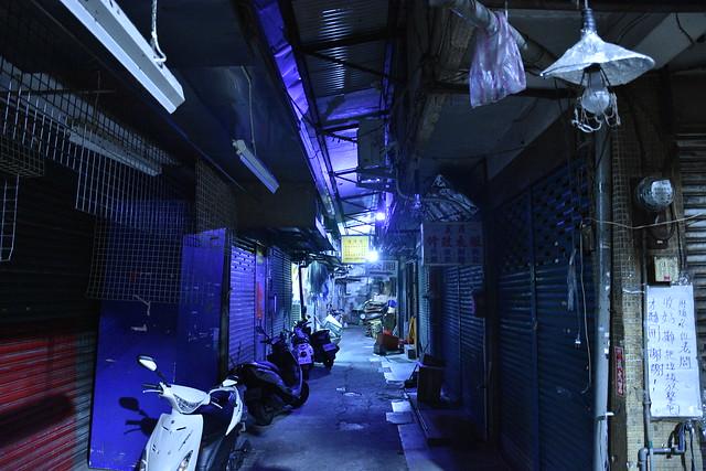 在城市沉睡後的角落, Nikon D7200, AF-S DX VR Zoom-Nikkor 18-105mm f/3.5-5.6G ED