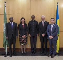 Ambassadors present credentials to President Kagame | Kigali, 5 December 2018