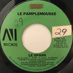 LE PAMPLEMOUSSE:LE SPANK(LABEL SIDE-A)