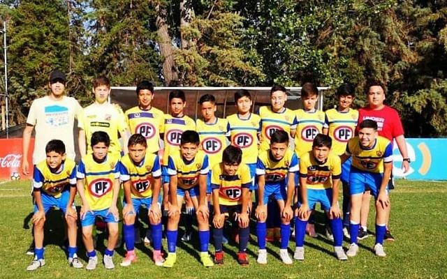 Fútbol S13: 4° lugar en Torneo ANFP Nacional