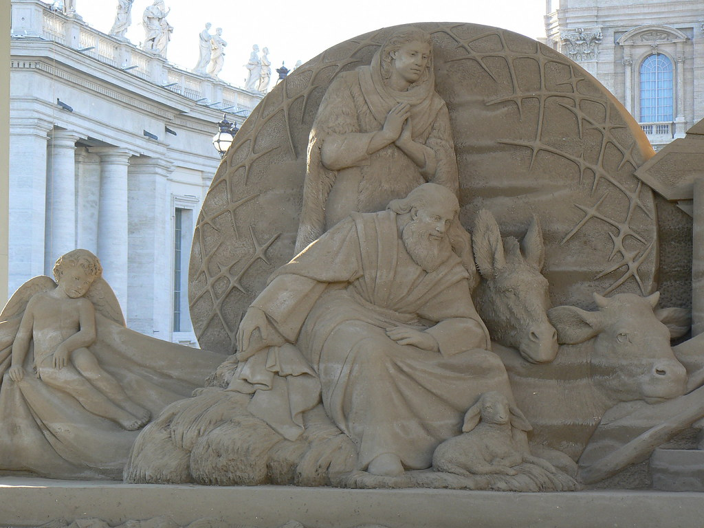 2018, Sand Nativity - Presepe di sabbia in Vaticano